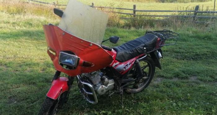 Мотоцикл, який викрали