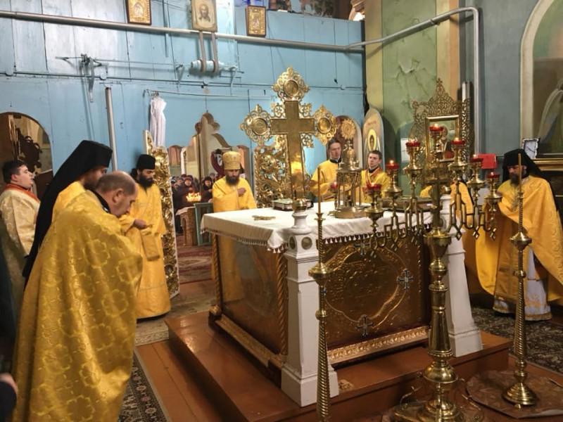 У Жидичині відбулася перша Літургія українською мовою