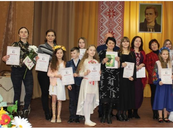 Ківерчанка стала переможницею конкурсу читців Лесі Українки