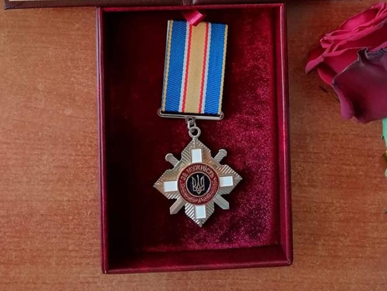 Волонтерку з Ківерців нагородили орденом «За мужність»