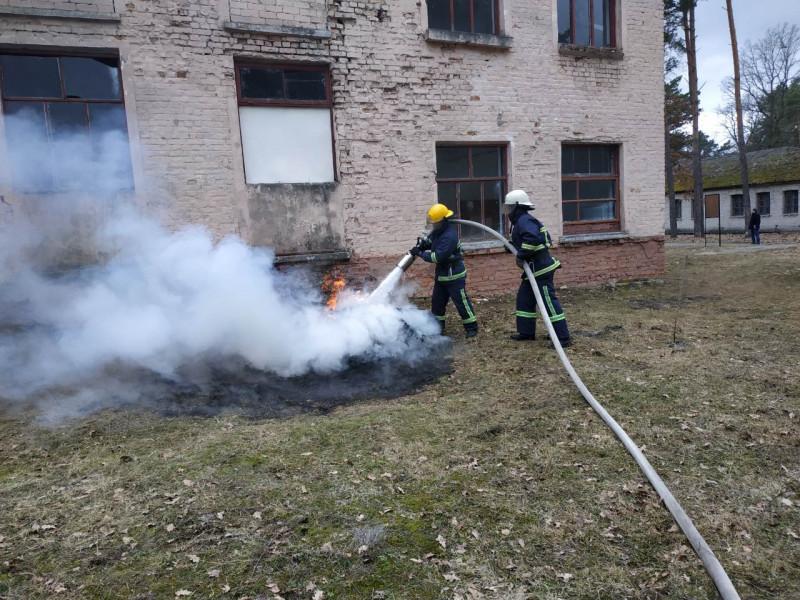 Сокиричі: силовики вчилися діяти в екстремальних умовах
