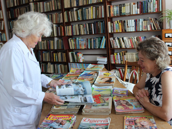 У ківерцівській лікарні запрацював бібліотечний пункт