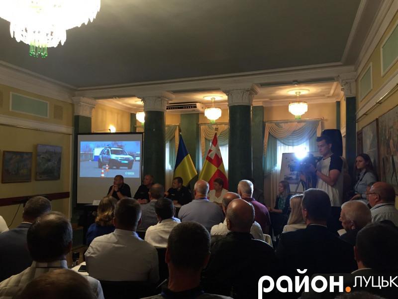 Презентація проекту в Луцьку