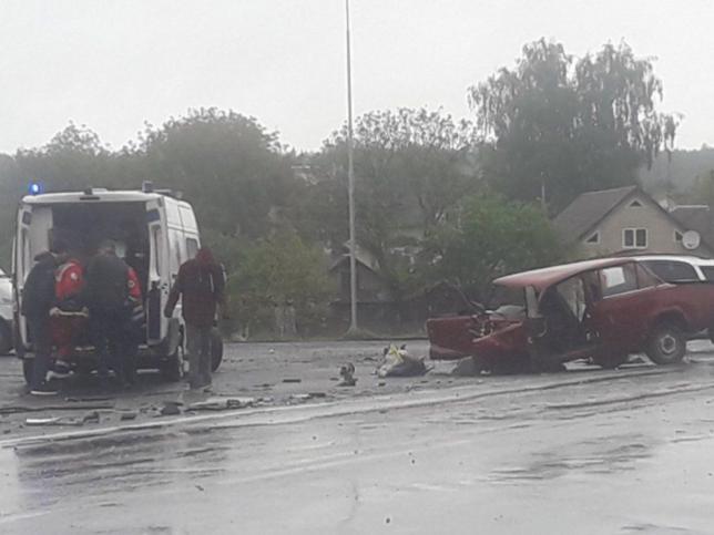 Аварія на Ківерцівщині
