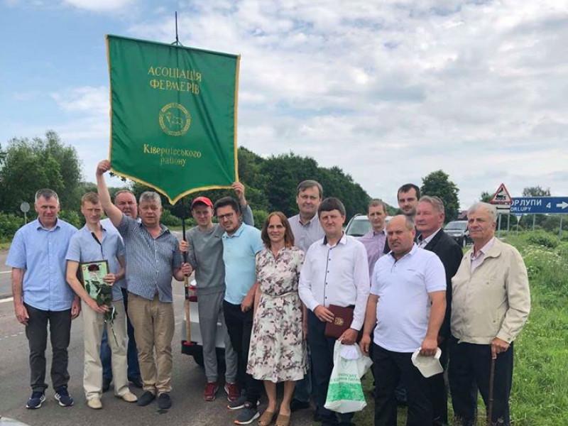 Фермери на Ківерцівщині