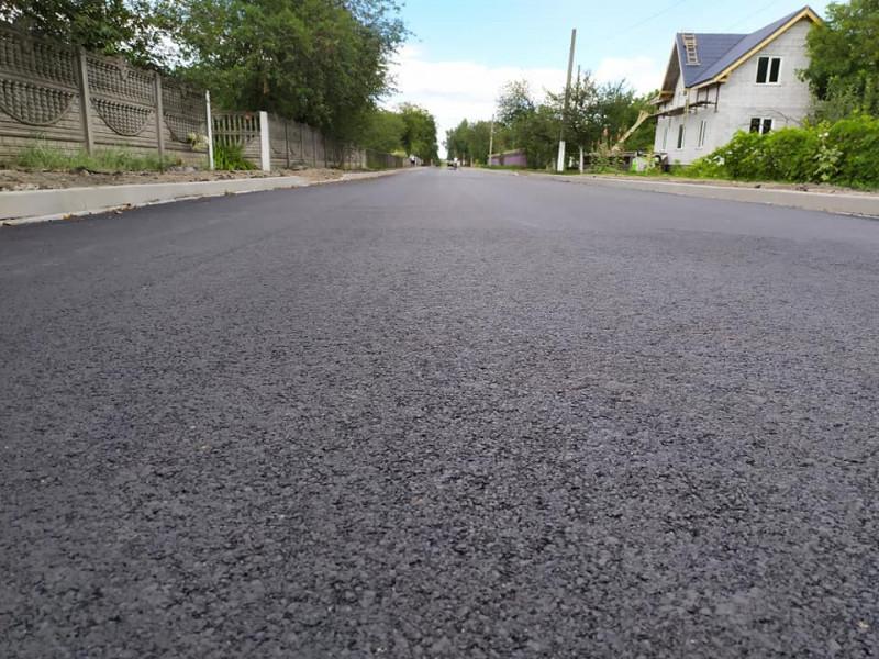 У Липинській громаді завершують капітальний ремонт вулиці