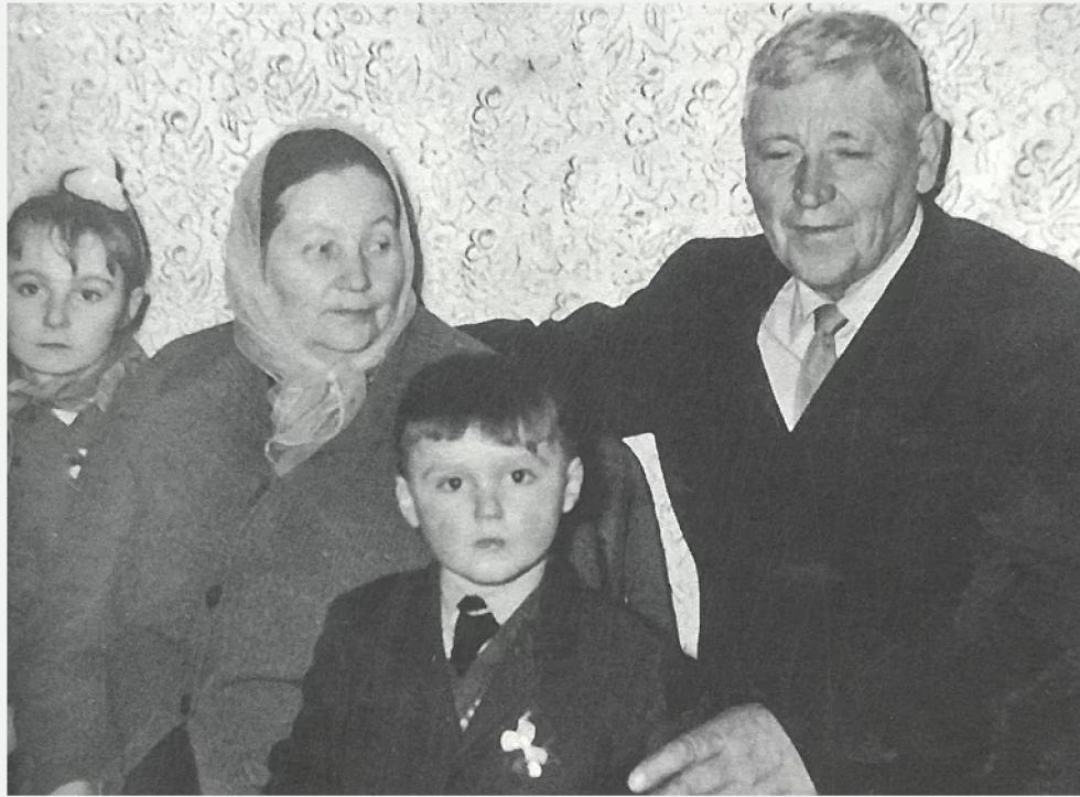 Алойзі Людвіковський з родиною