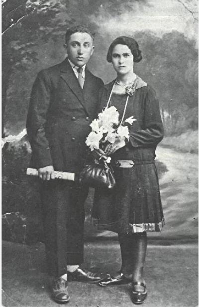 Врятовані родиною Людвіковських Мотко і Медля Фрідмани