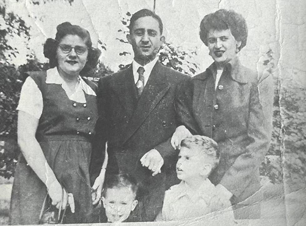 Родина Поташів, врятована родиною Людвіковських