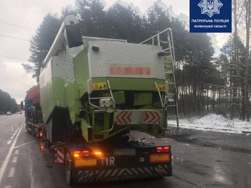 Де на Волині вантажівки можуть перечекати зимову негоду