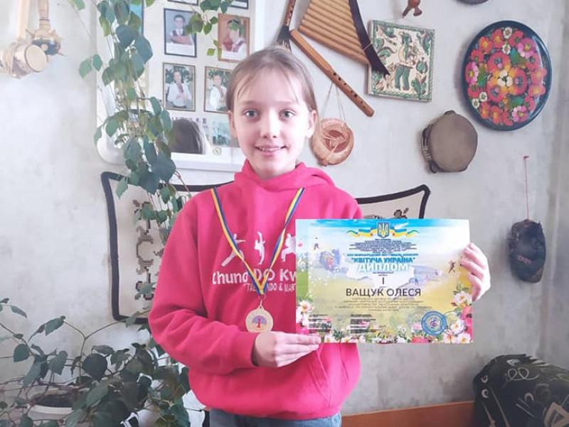 Юна флейтистка Олеся Ващук
