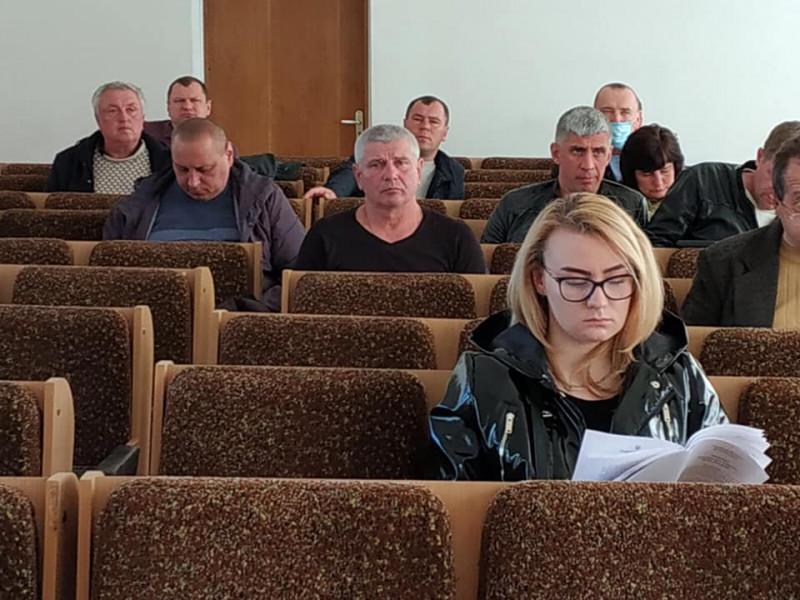 Засідання виконкому Ківерцівської міськради