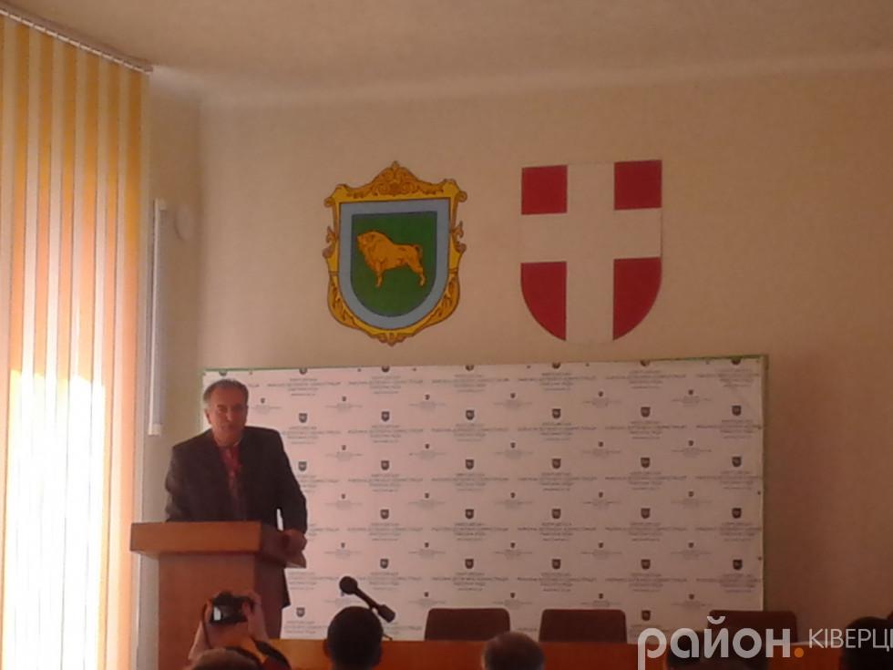Заступник голови Ківерцівської райдержадміністрації Юліан Таранчук