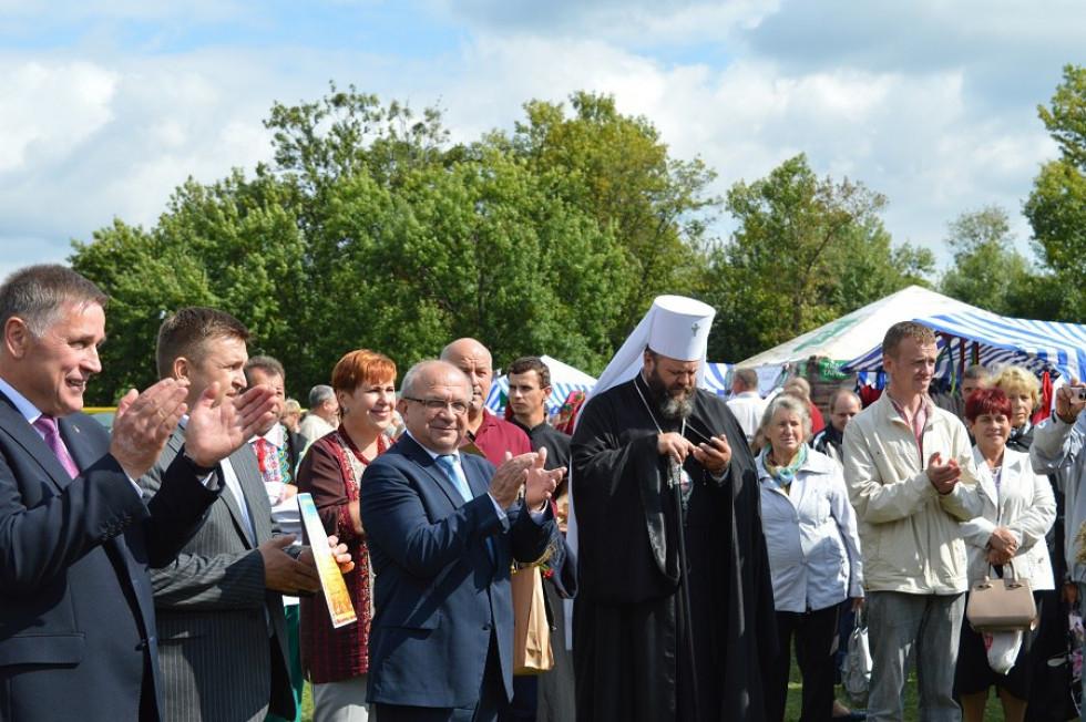 Делегація на чолі з головою облдержадміністрації Володимиром Гунчиком