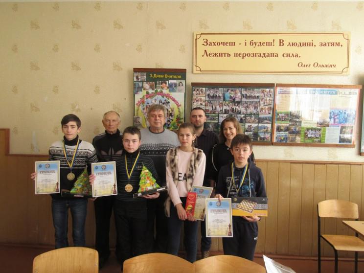 Нагородження юних шахістів
