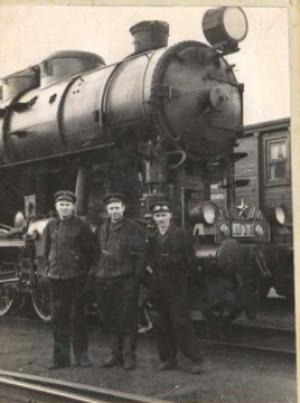 Працівники Ківерцівського депо. 1960-ті роки