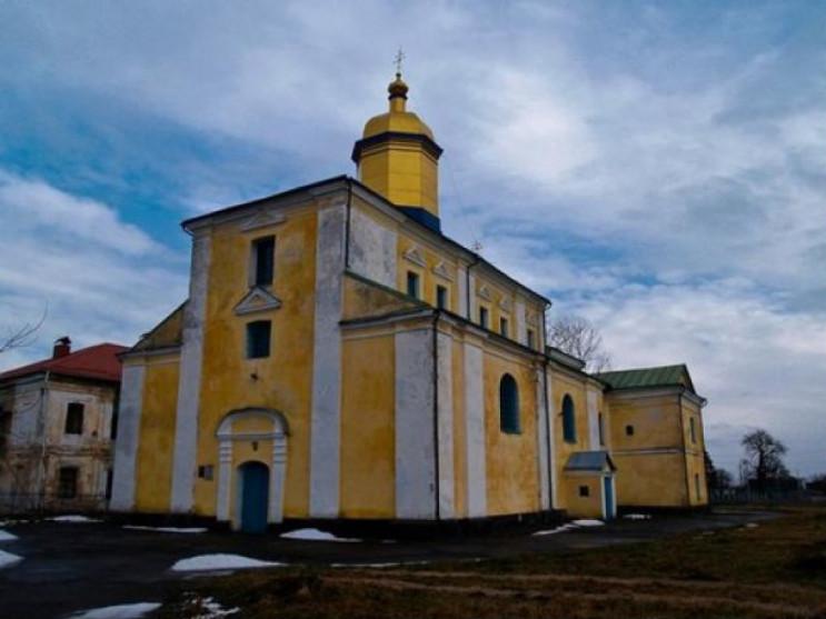 Монастир у селі Жидичин