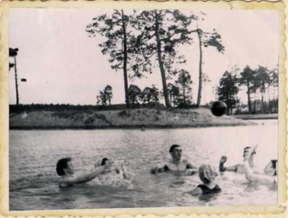 Озеро Комсомольське. 1960-ті роки