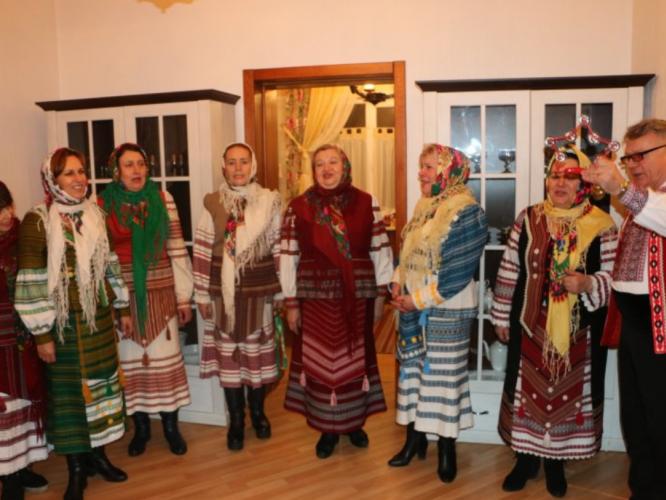 Пан Василь зі своїм колективом