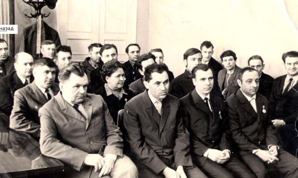 Профспілкові збори заводу «Лісмаш. 1966 рік