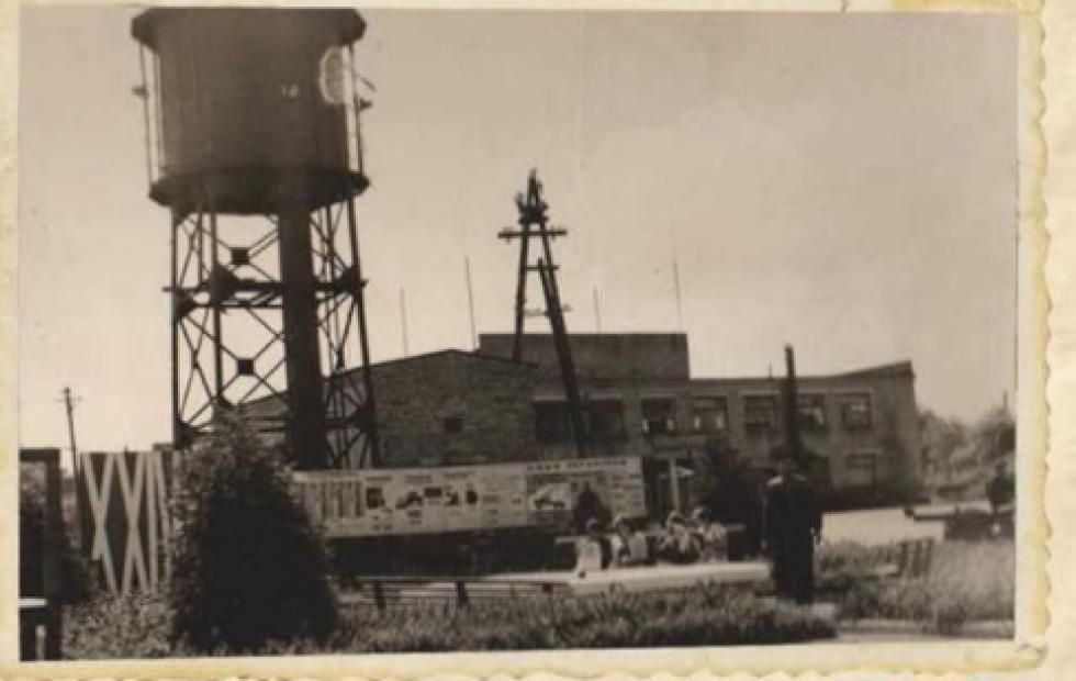 На території підприємства. 1967 рік