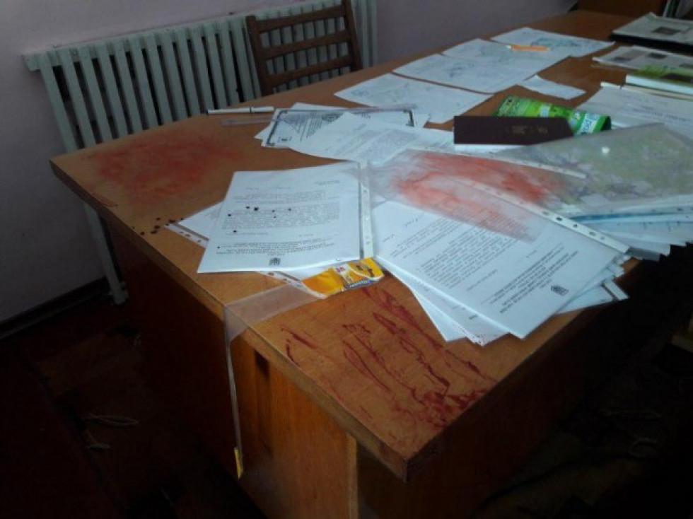 Квача побили у власному кабінеті