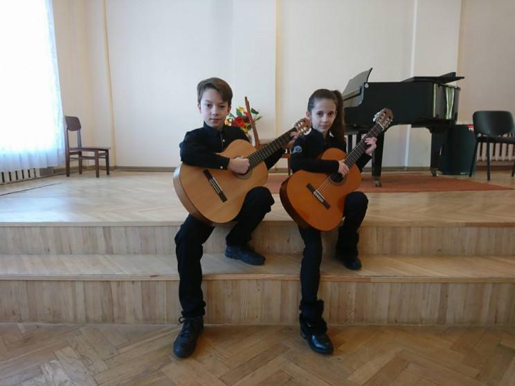 Маленькі ківерцівські музиканти