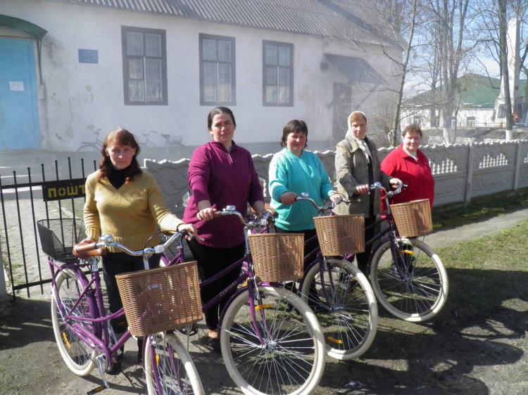 Новий транспорт для тростянецьких листонош