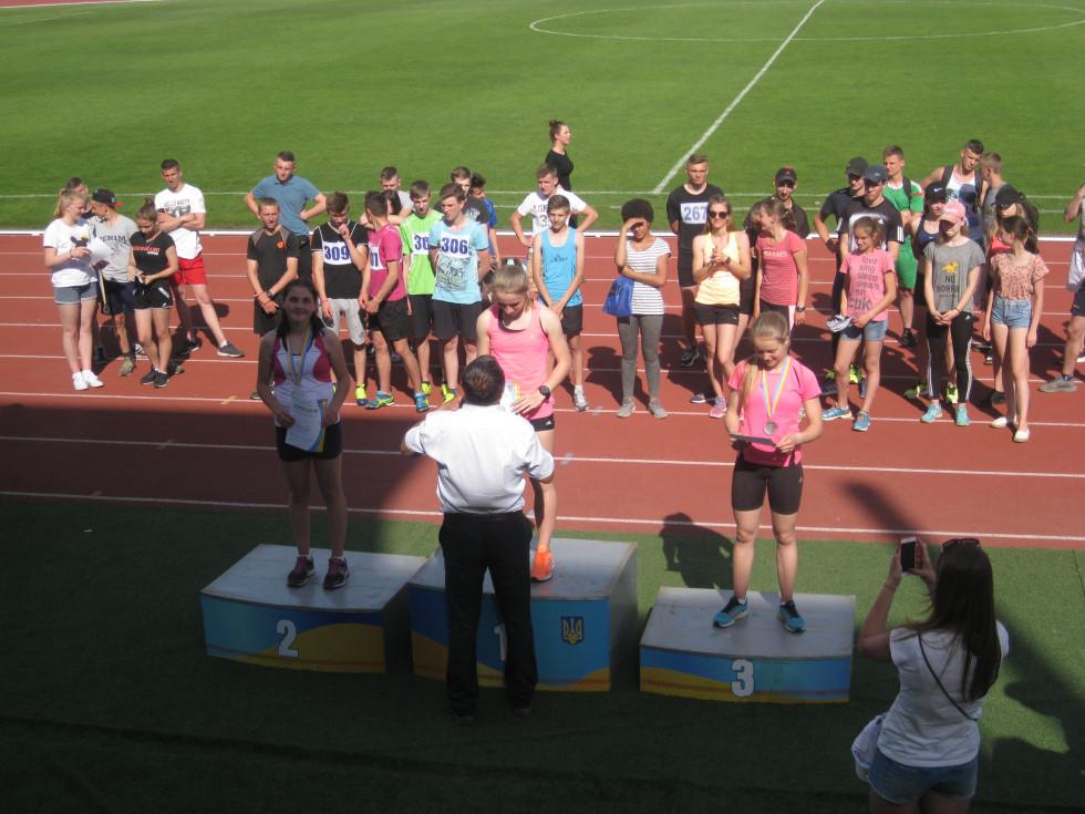 Ківерцівські спортсмени на Чемпіонаті Волині з легкої атлетики