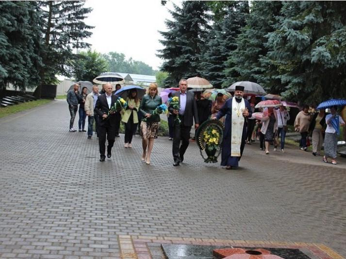 Ківерці: вшанували пам'ять жертв війни в України