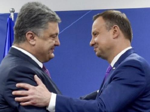 Петро Порошенко і Анджей Дуда