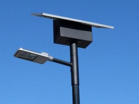Світильників на сонячних батареях