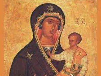 Ікона  Божої матері Одигітрії