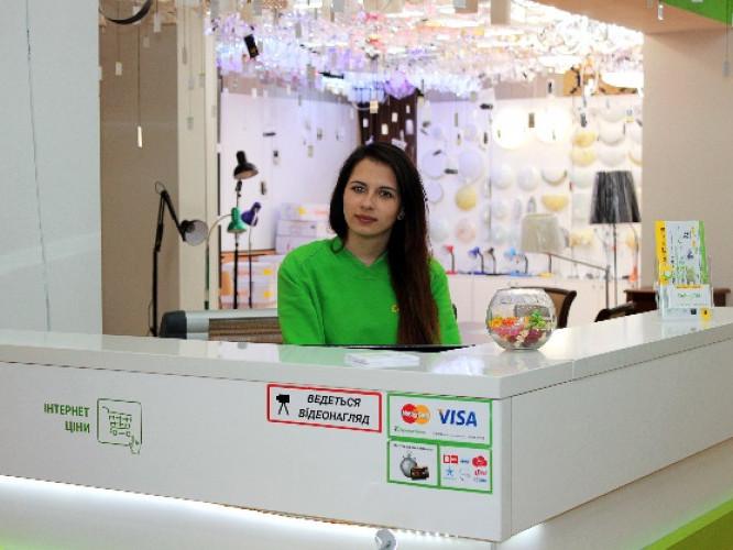 Гіпермаркет меблів та люстр Dybok.ua:Луцьк, проспект Волі 49а, «Сітіпарк», 2 поверх