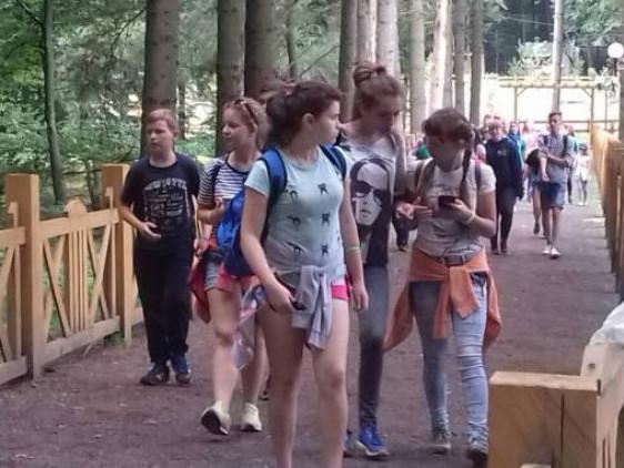 Діти з Луганської області відвідали «Волинську Швейцарію».