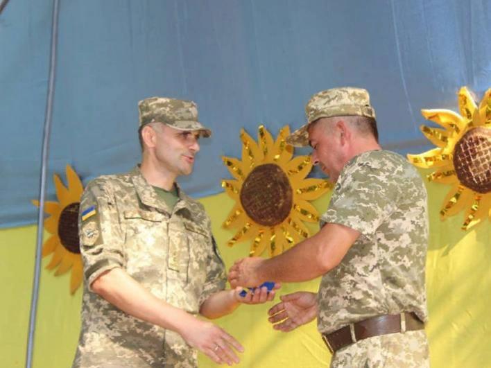 У Ківерцях нагородили учасників бойових дій