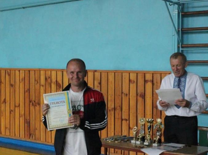 Андрій Струсь‒ кращий бомбардир у змаганні з міні-футболу