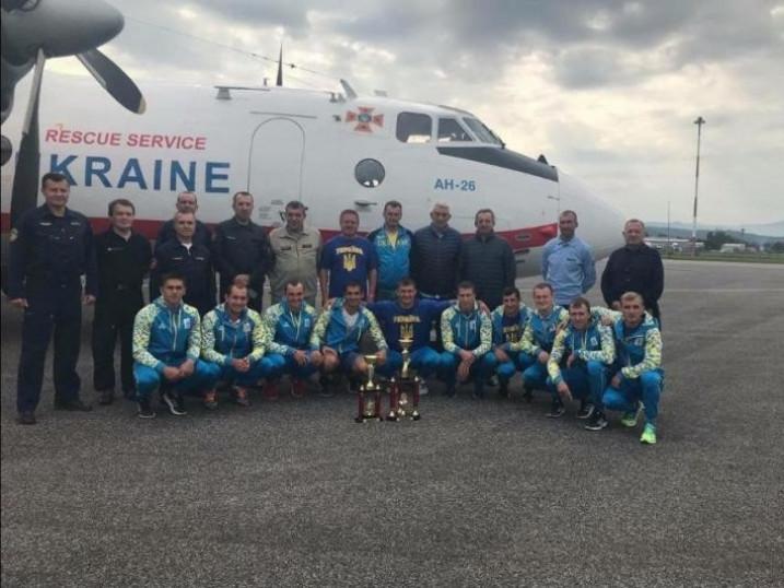 Команди України з пожежно-прикладного спорту