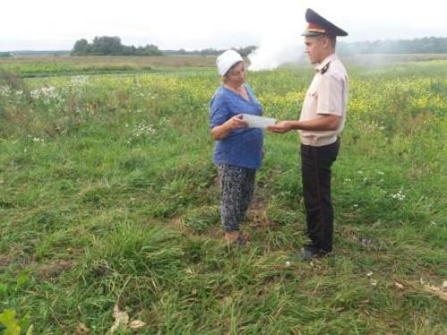 Ківерцівські рятувальники закликали не спалювати суху рослинність