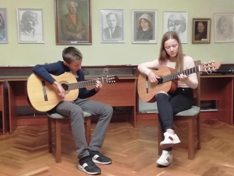 У Ківерцівському краєзнавчому музеї відбувся «Вечір музики та поезії».