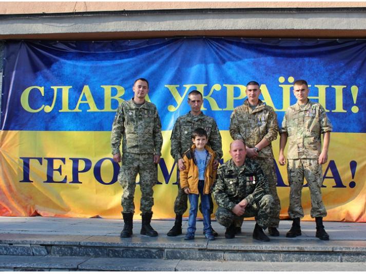 У Ківерцях відзначили і вшанували захисників України