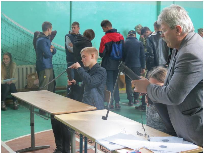 У Ківерцях відбулись змагання зі стрільби із пневматичної гвинтівки
