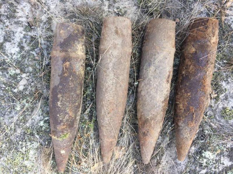 На Ківерцівщині знайшли артилерійські снаряди Другої світової війни