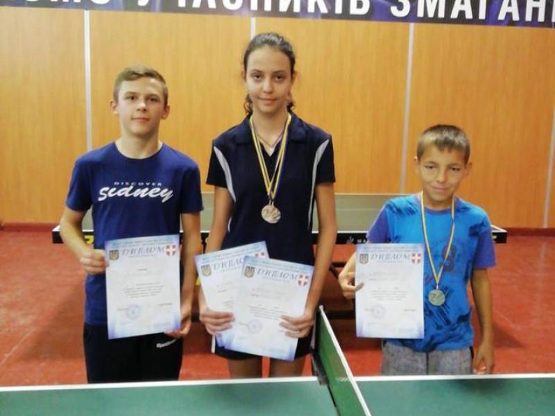Ківерчани взяли участь у чемпіонаті області з настільного тенісу