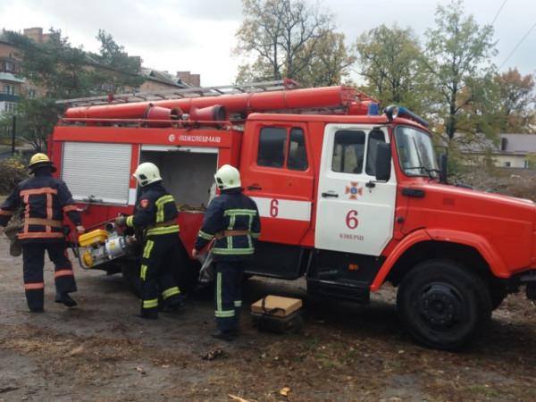 У Ківерцях рятувальники вчилися ліквідувати аварії на об'єктах теплопостачання