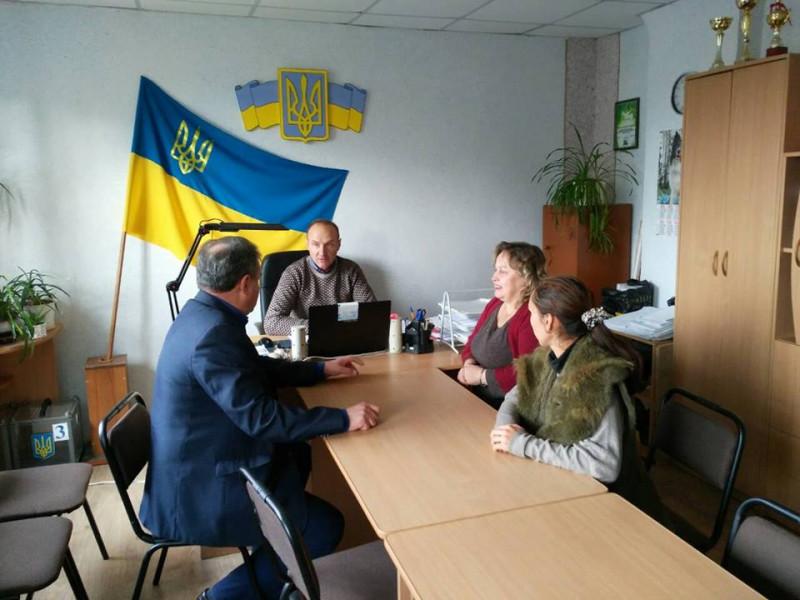 Голова РДА провів виїзний прийом громадян у Прилуцьку