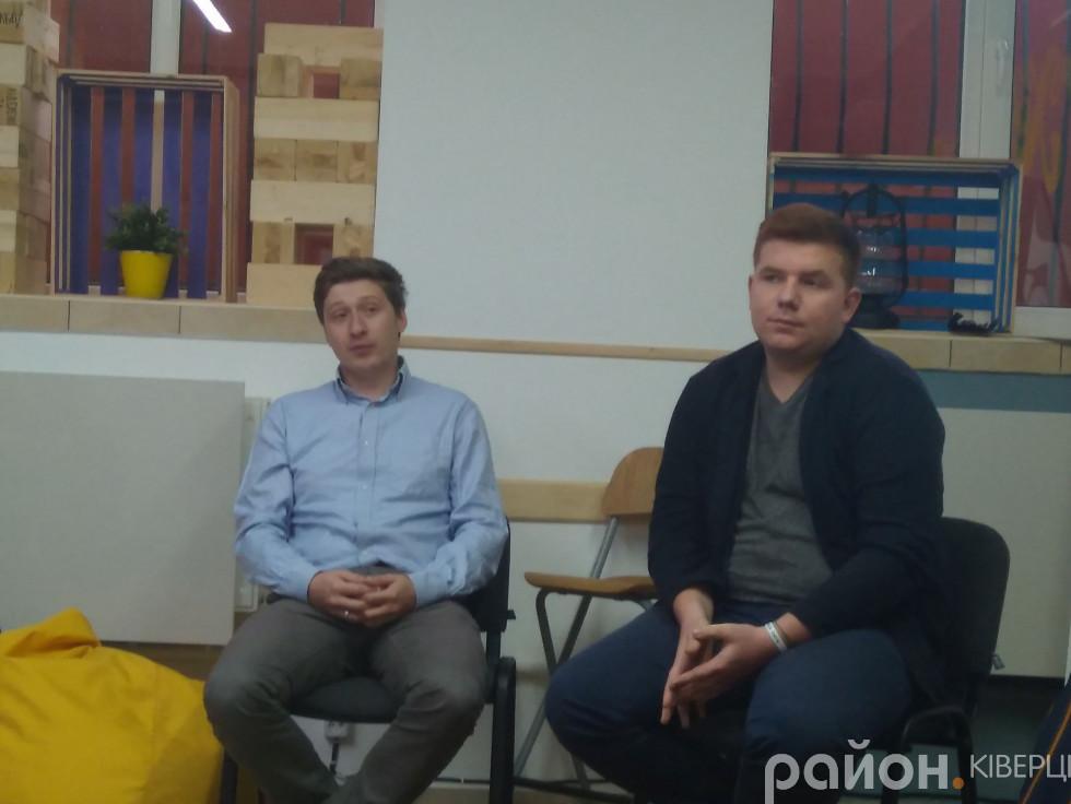 Захар Ткачук та Демя'н Петрик