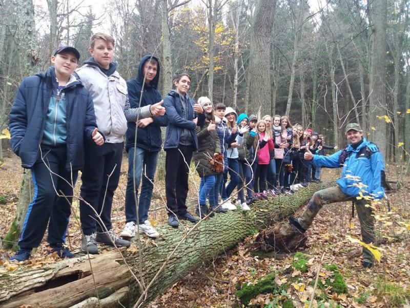 Слухачі Природничої школи побували на екскурсії в урочищі Папики
