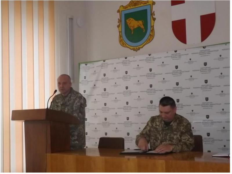 У Ківерцях представили нового військового комісара