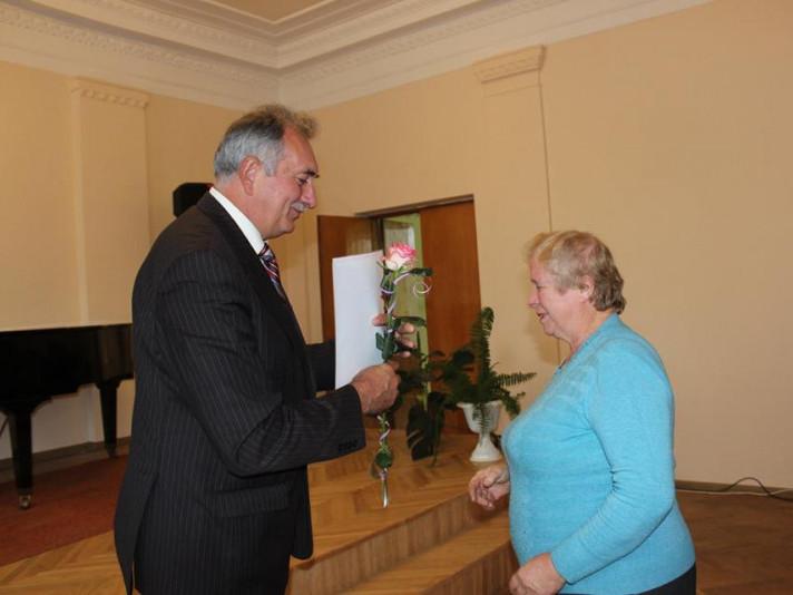 У Ківерцях привітали працівників культури з професійним святом